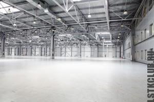 Промышленное сооружение по технологии ЛСТК