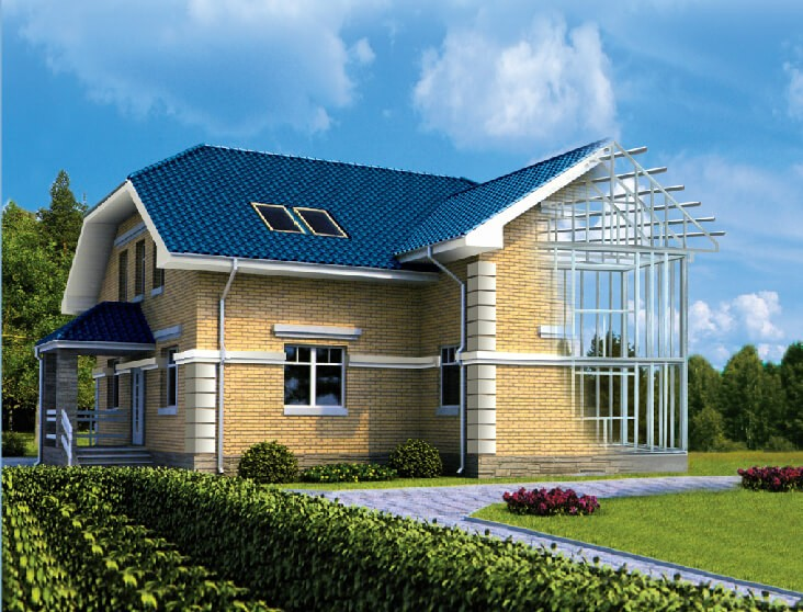 Быстровозводимый дом строим
