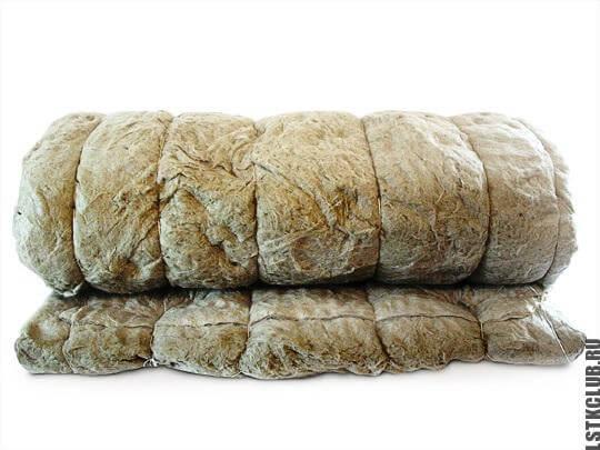 Материал для утепления здания - базальтовая вата