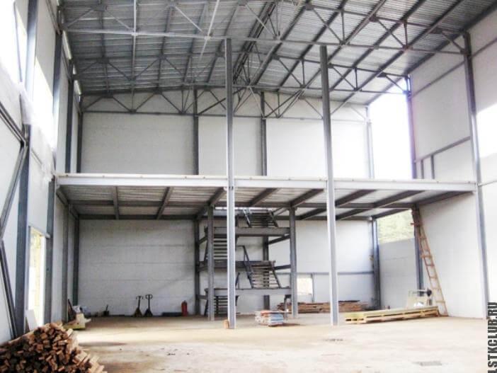 Строительство двухэтажного магазина