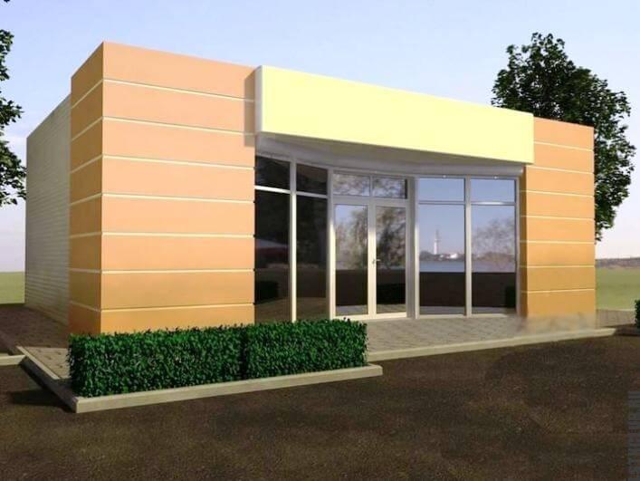 Проект строительства модульного магазина