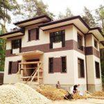 Дом построенный по индивидуальному проекту ЛСТК