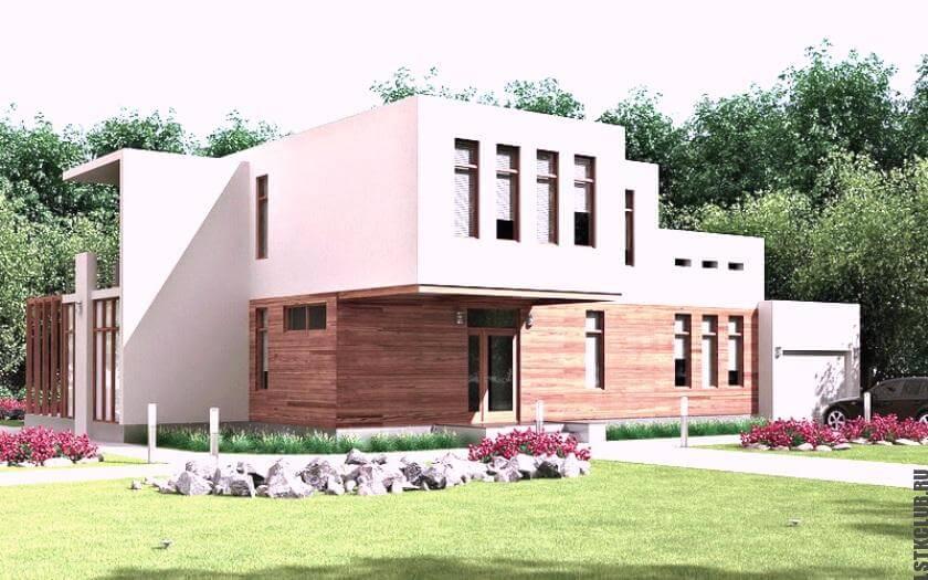 Очаровательной красоты европейский дом из ЛСТК