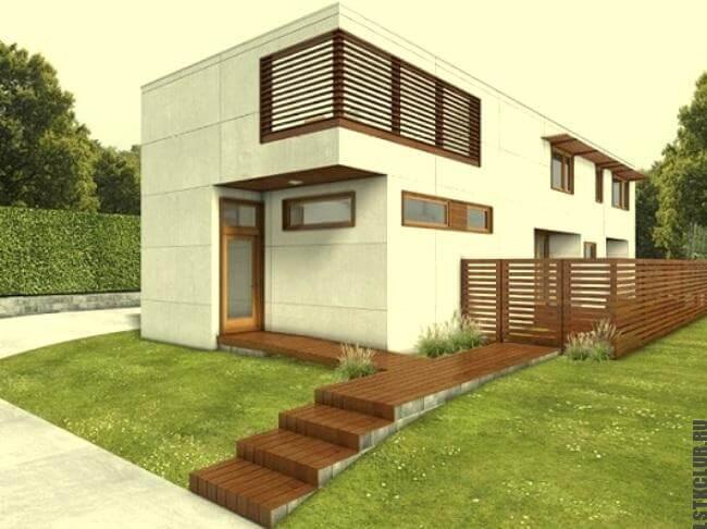 Проект загородного дома из ЛСТК