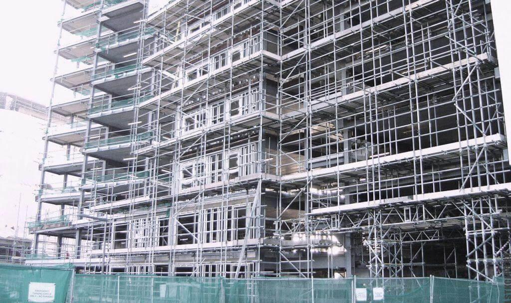 Многоэтажное каркасное строительство