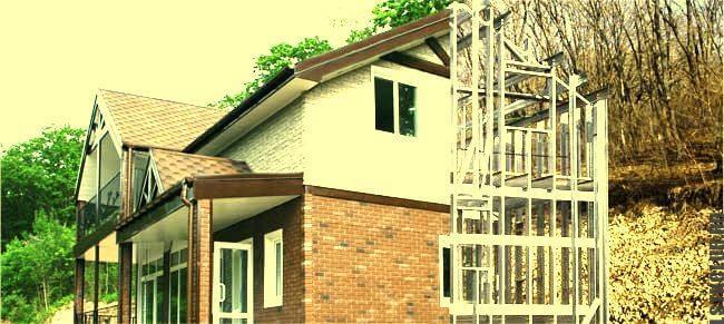 Проект дома из ЛСТК.