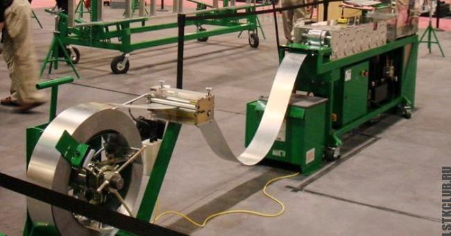 Линия размотки рулонной стали