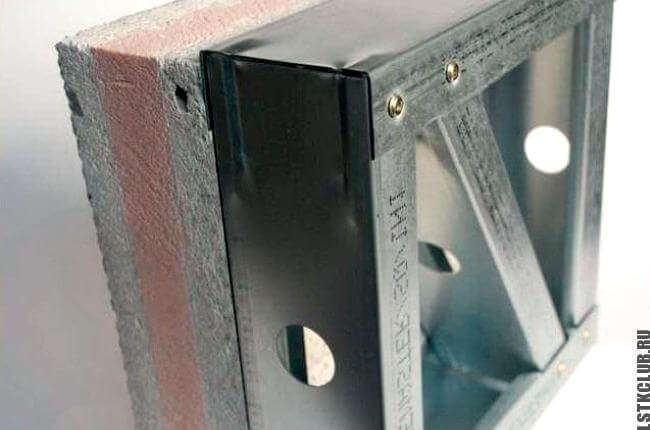 Образец продукции ЛСТК на заводе