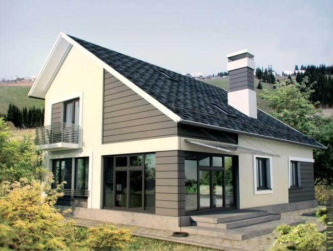 Один из типовых проектов жилых домов ЛСТК
