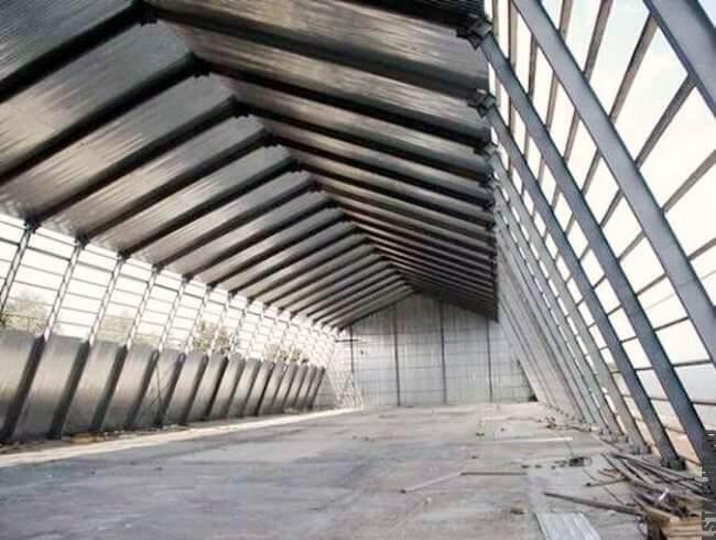 Устройство мансардного этажа из ЛМК  (лёгких металлоконструкций)