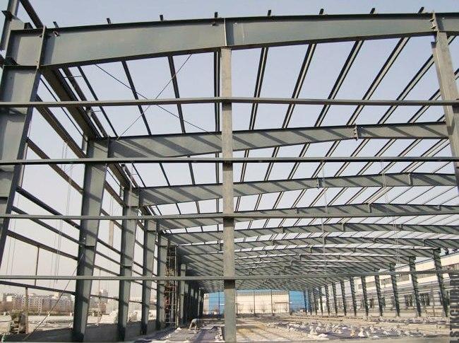 Устройство крыши каркасного металлического здания