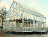 Каркас дома построенный по технологии ЛСТК