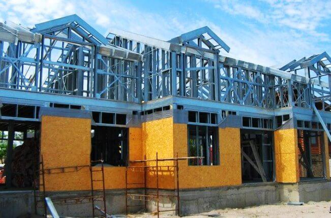 477Как построить дом из металлопрофиля своими руками