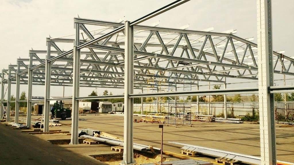 Строительство легких металлоконструкций из ЛСТК.