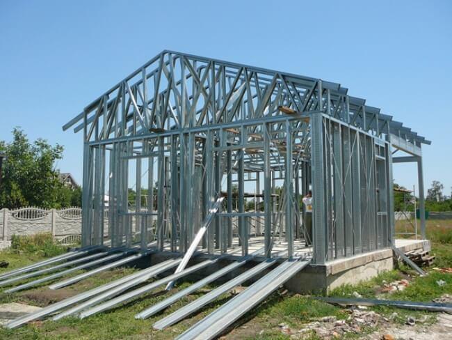 Строительство быстровозводимого каркаса из ЛСТК