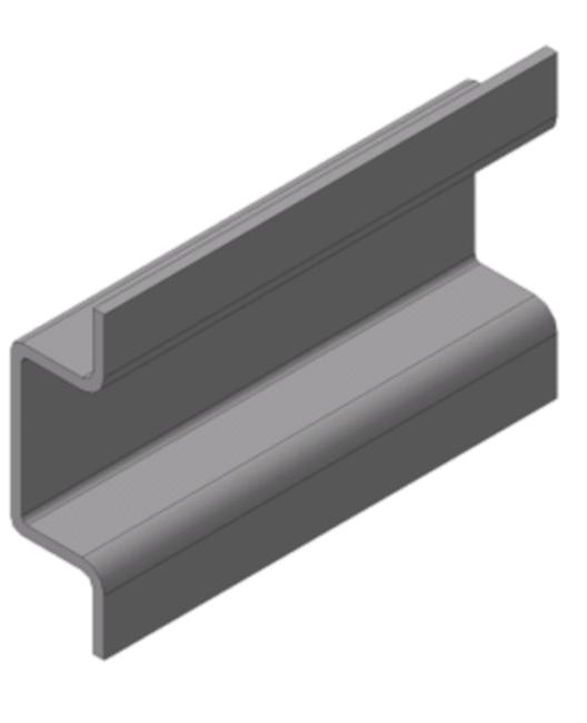Фото корытного профиля из стали