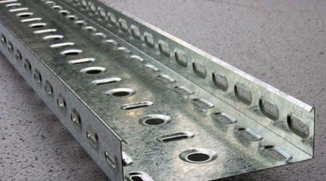 Профиль с перфорацией из стали