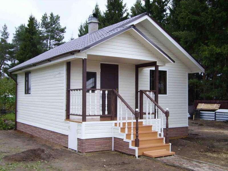 Дизайн дома снаружи эконом класса