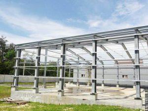 Промышленный ангар-склад из ЛСТК