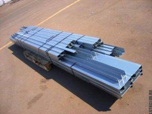 Комплект металлических профилей ЛСТК для строительства гаража.