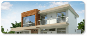 Современный коттедж из легкой стальной тонкостенной конструкции