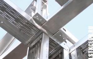 Профиль ЛСТК для строительства каркаса здания