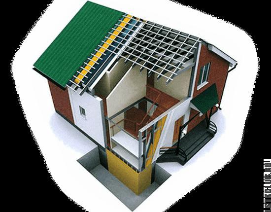 Современные дома по ЛСТК технологии