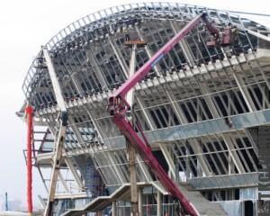 Промышленное строительство ЛСТК