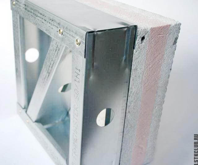 Пример произведенной ЛСТК конструкции