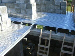 Межэтажное перекрытие ЛСТК конструкции
