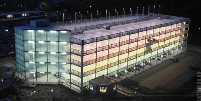 Многоэтажный паркинг из ЛСТК, ЛМК конструкций
