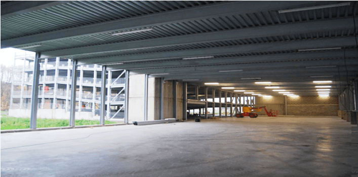 Паркинги и парковки из ЛСТК и ЛМК