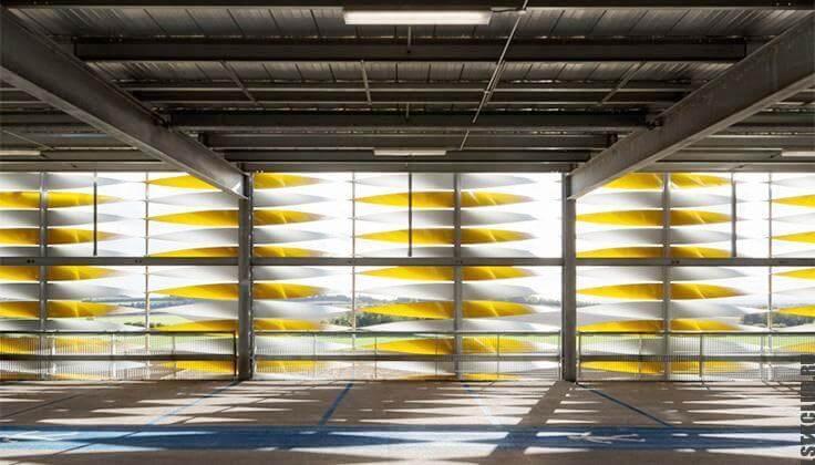 Паркинг из ЛСТК и ЛМК конструкции