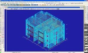 Проектирование жилого дома ЛСТК