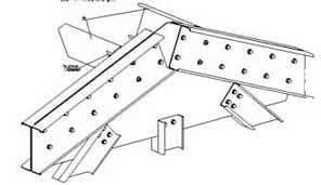 Крепление основной конструкции ЛСТК каркаса