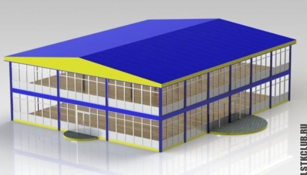 Проект магазина в графической программе