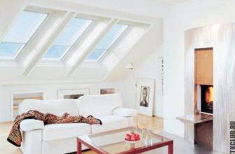 Красивый мансардный этаж в скандинавском стиле из ЛСТК