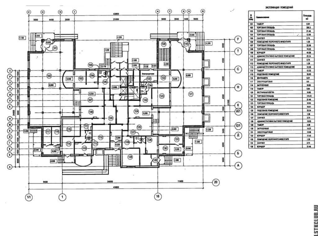 Настоящий проект торгового дома ЛСТК