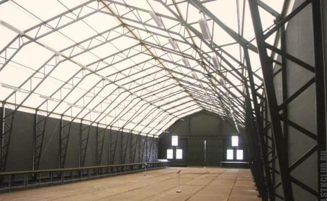 Промышленное здание из ЛСТК и ЛМК каркаса