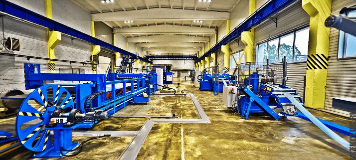 Производственная линия ЛСТК и ЛМК