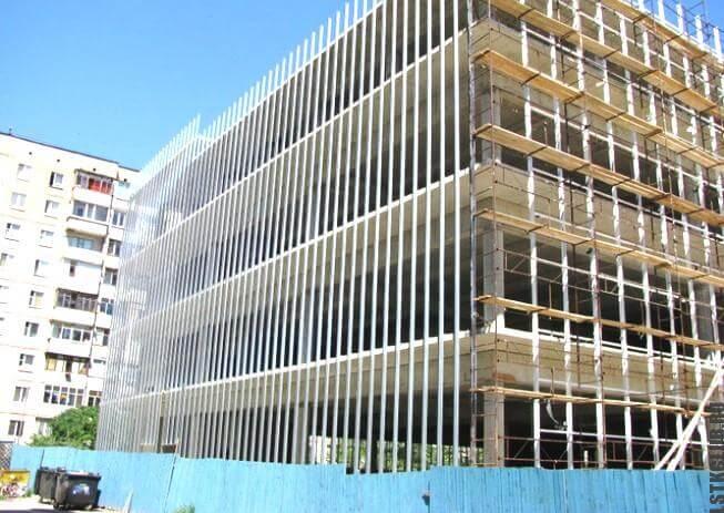 Строительство многоэтажного здания из металлоконструкций по технологии ЛСТК