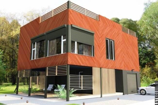 Проект дома из ЛСТК площадью 220 м