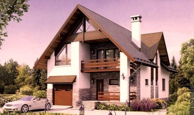 Трехмерный проект (визуализация дома)