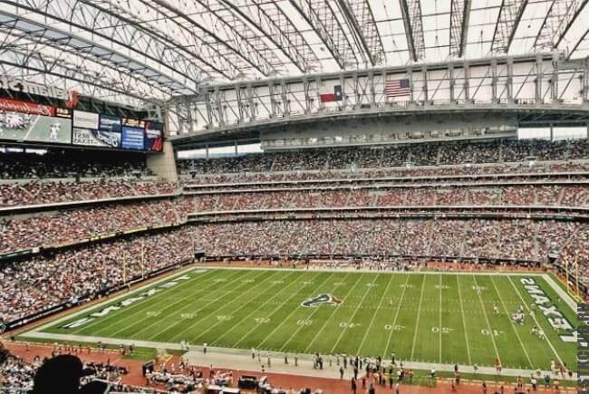 Футбольный стадион - сооружение из ЛМК конструкций