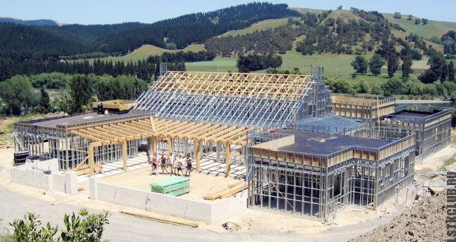 Строительство усадьбы по каркасной технологии