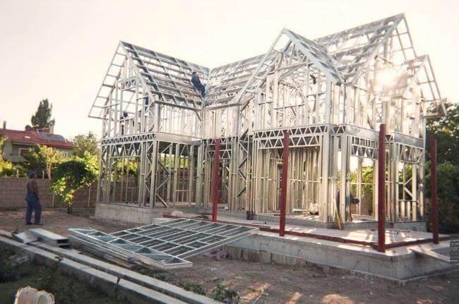 Монтаж металлической конструкции