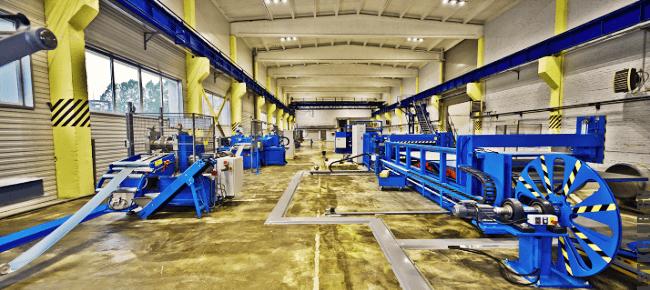 Производство ЛСТК профиля (завод металлопроката)