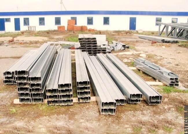 Готовый комплект металлоконструкций для строительства объекта