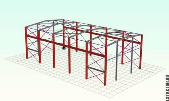 Визуализация склада в графической программе