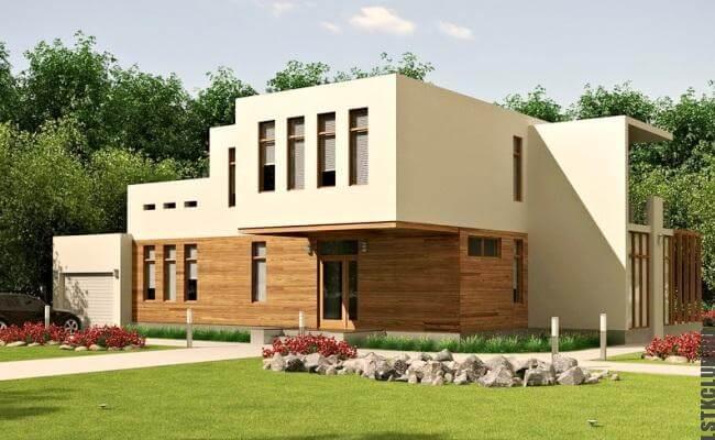 Европейский образец проекта жилого дома
